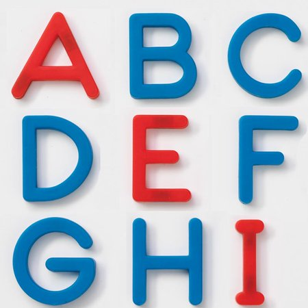 EZread™ Plastic Magnetic Letters Set - Uppercase