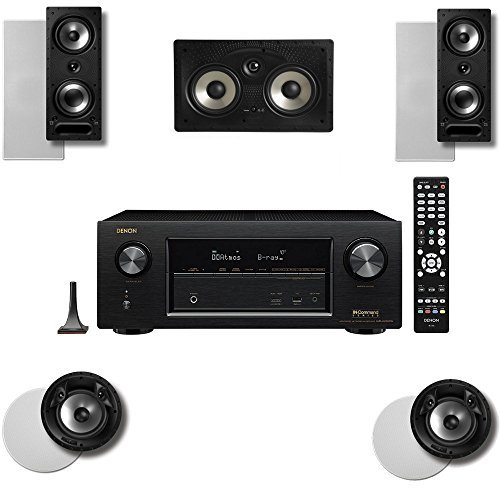 Polk Audio 265RT 5 Speaker System with 80FXRT and Denon AVRX2300W by Polk Audio