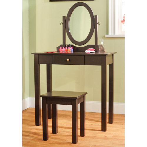 Superieur 3 Pc Vanity Set, Espresso
