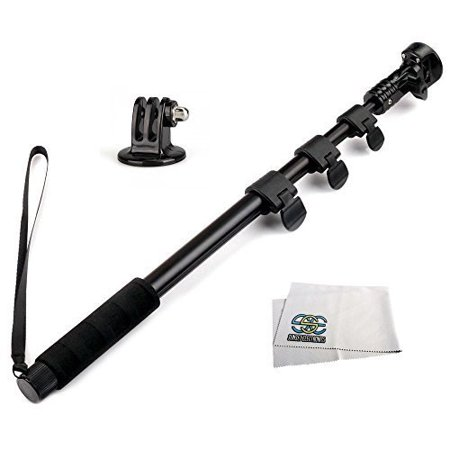 sse 48 high grade heavy duty extendable handheld monopod selfie stick pole and tripod mount. Black Bedroom Furniture Sets. Home Design Ideas