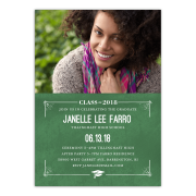 Graduation invitations personalized graduation invitation class stamp 5 x 7 flat filmwisefo