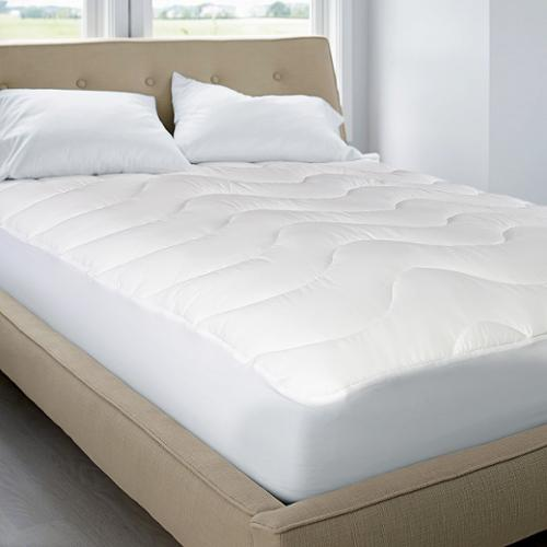 Classic 200 Thread Count Cotton top Mattress Pad Full