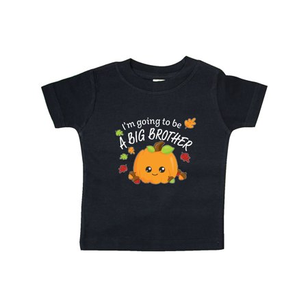 I'm Going to be a Big Brother- cute Halloween pumpkin Baby T-Shirt