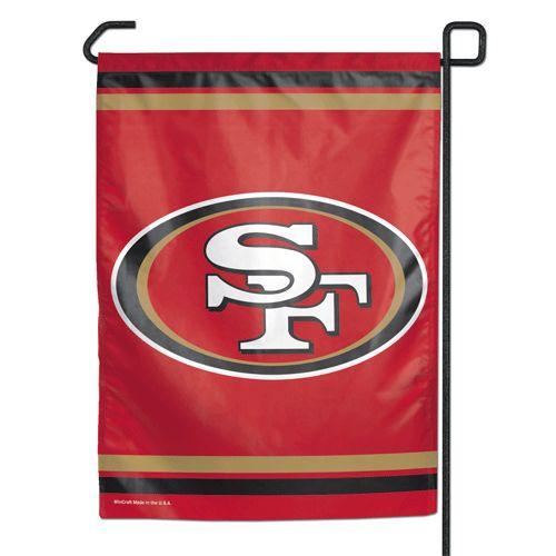 """San Francisco 49ers 11""""x15"""" Garden Flag"""