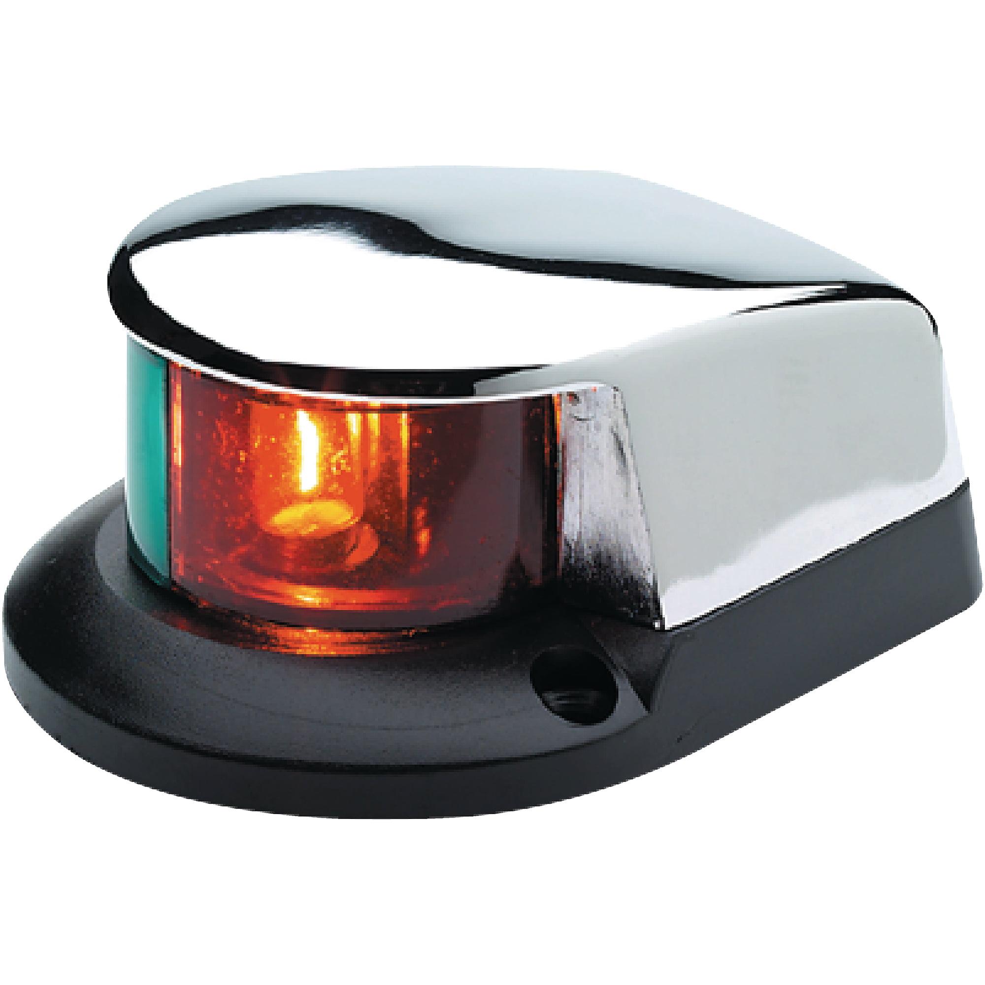 Seachoice Chrome Plated Zamak Bi-Color Bow Light