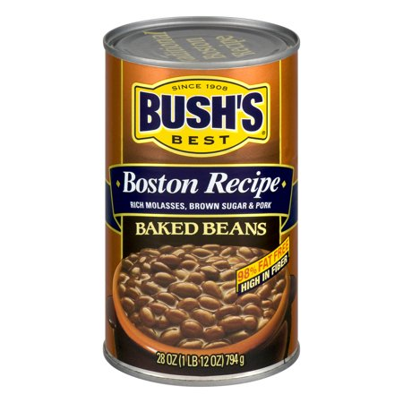 (6 Pack) Bush's Best Baked Beans Boston Recipe, 28