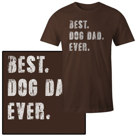 7a34d66c9 Mad Marble - Men's Best Dog Dad Ever T-Shirt - Walmart.com