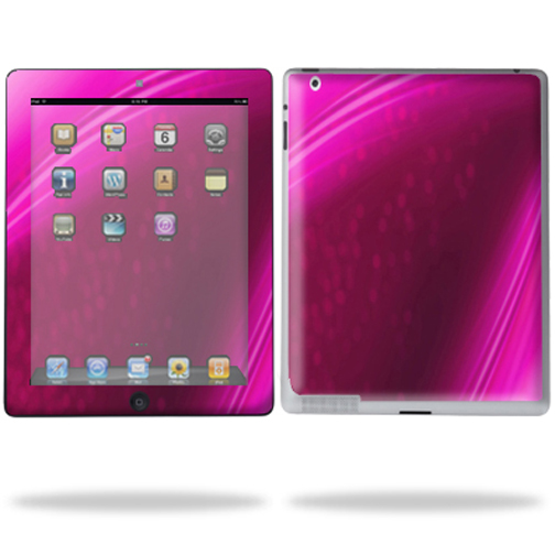 Mightyskins Protective Vinyl Skin Decal Cover for Apple iPad 2 2nd Gen or iPad 3 3rd Gen Tablet E-Reader wrap sticker skins - Pink Abstract