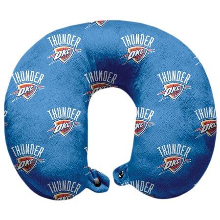 Oklahoma City Thunder Polyester-Fill Travel Pillow