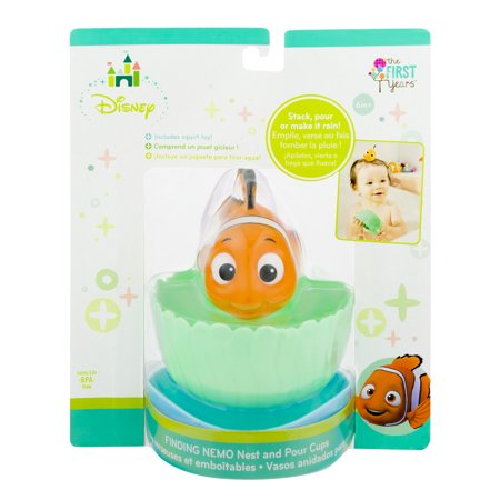 The First Years Disney Finding Nemo Nest and Pour Cups, 1.0 CT - Finding Nemo Party Supplies Walmart