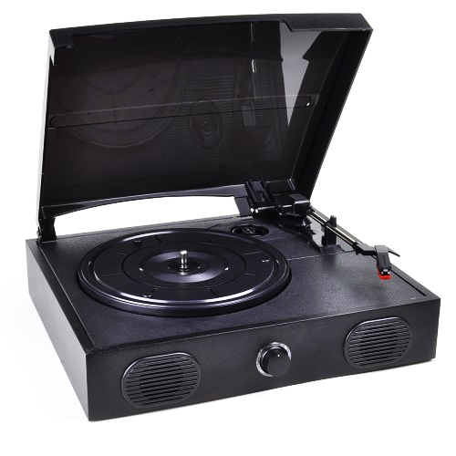 VIBE Sound VS-2002-SPK USB Turntable Vinyl Archiver Record Player w Speakers by Vibe