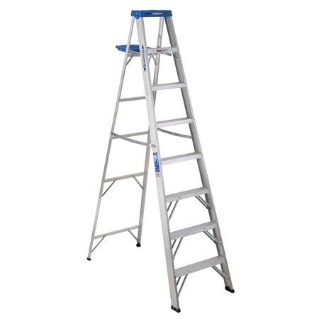 Werner 368 8ft Type I Aluminum Step Ladder Walmart Com