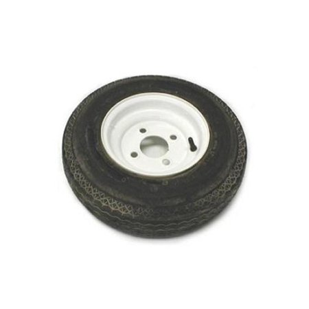 - Load Star 30780 Tire and Wheel Assembly - 530x12 - 4 Hole - White Rim
