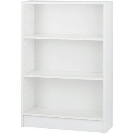 dylan wide 2 shelf bookcase white. Black Bedroom Furniture Sets. Home Design Ideas