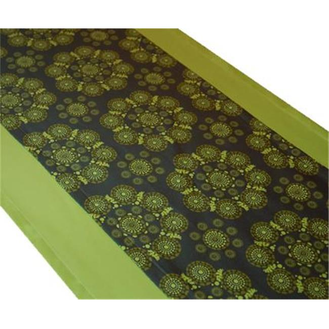 A Greener Kitchen Organic Cotton Table Runner - Eyes of the World