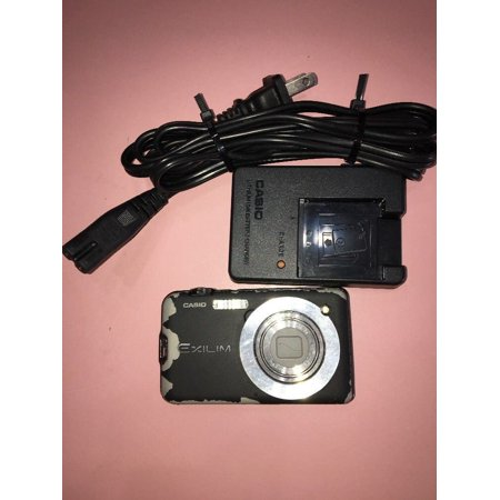 Casio Exilim 10.1 Megapixel Digital Camera Model EX-S10A Black, needs