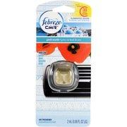 Febreze Car Greek Seaside Air Freshener Vent Clip, 0.06 fl oz