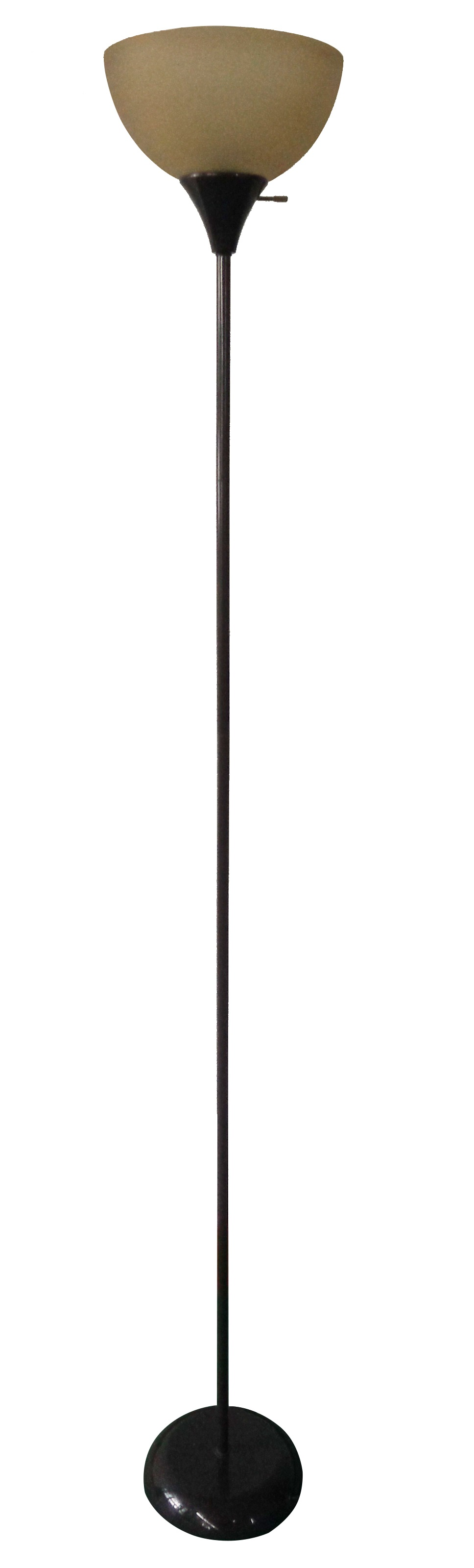 Mainstays floor lamp brown finish walmart aloadofball Image collections