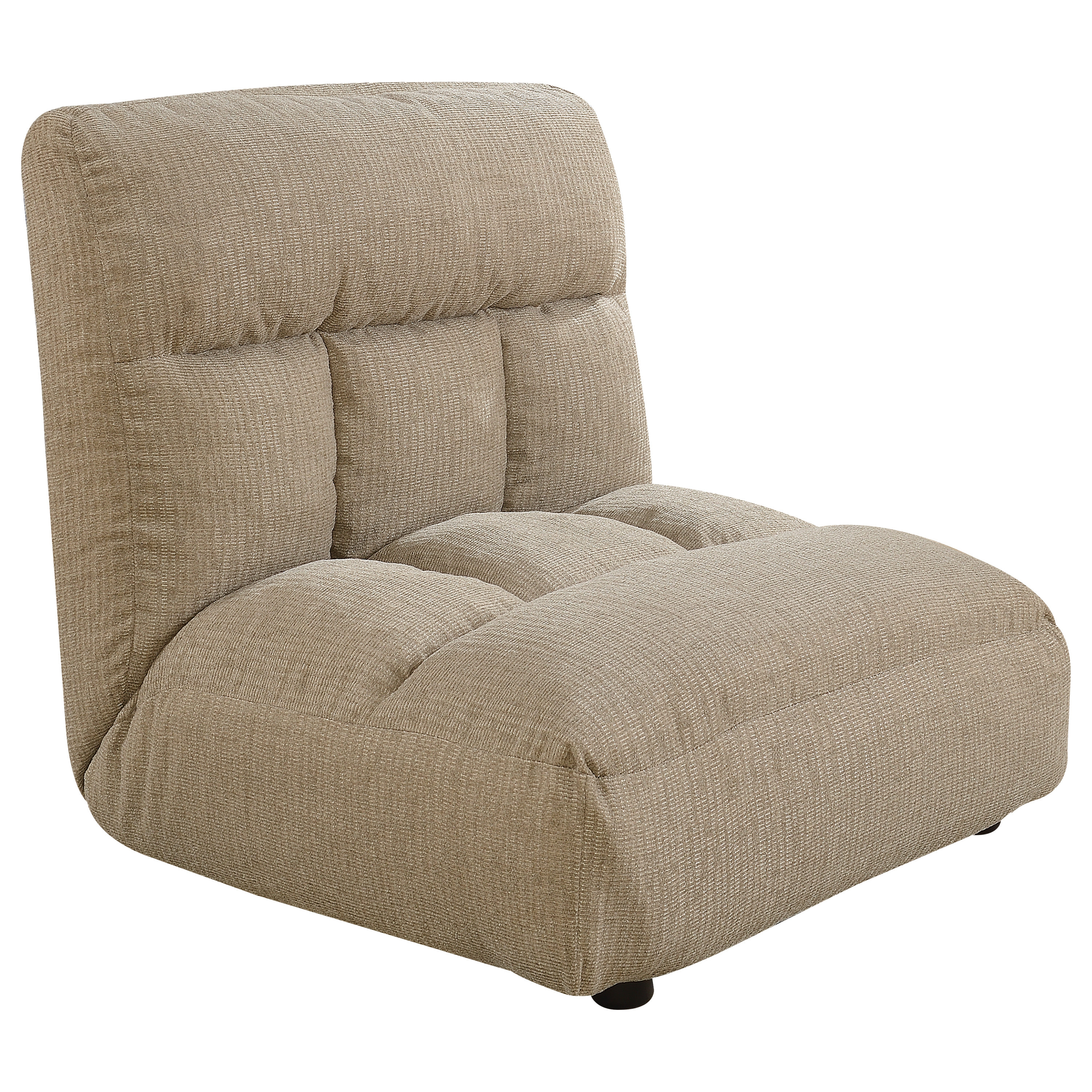 Wonderful ACME Emerin Convertible Futon Flip Lounge Chair In Tan Fabric