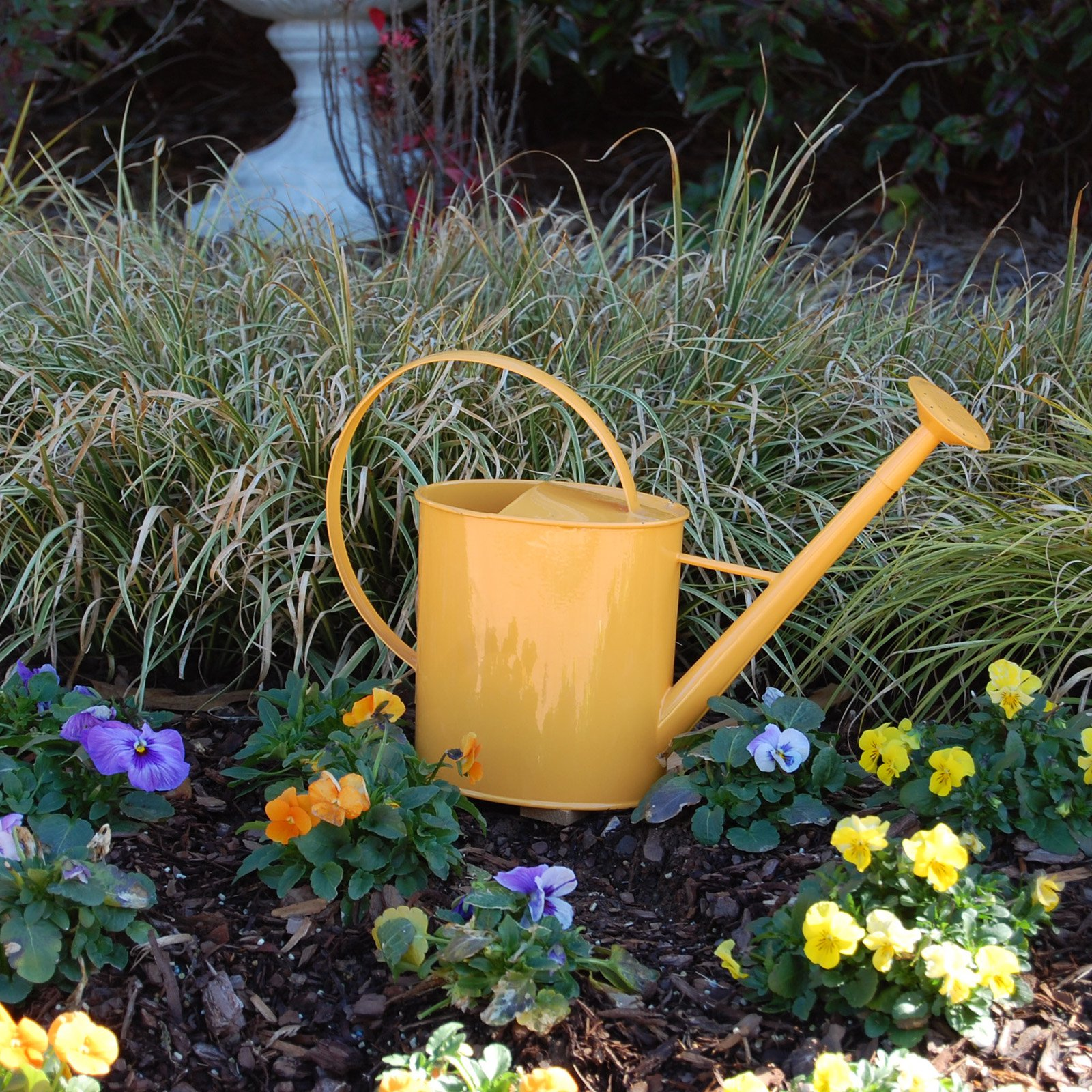 Austram 1 Gallon Metal Watering Can with Long Spout by Austram Inc