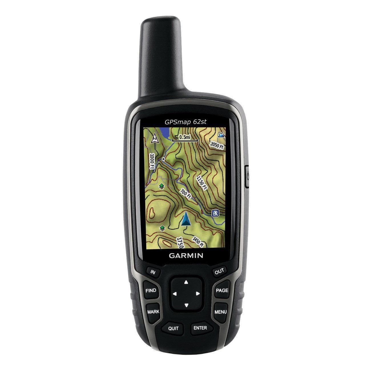 "Garmin Gpsmap 62st Handheld Gps Navigator Portable 2.6"" 65000 Colors Altimeter, Compass, Barometer, Photo Viewer,... by Garmin"