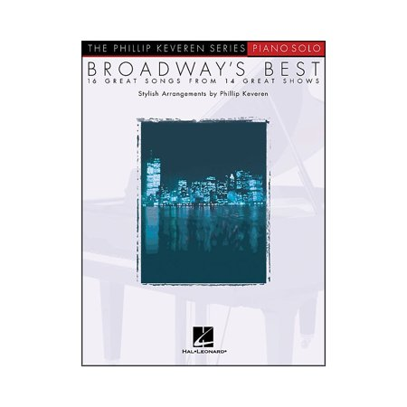Hal Leonard Broadway's Best - Piano Solo - 16 Great Songs From 14 Great (Best Reviewed Broadway Shows)