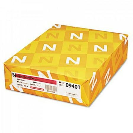 Neenah Paper 09401 Classic (25%) Cotton Wove Writing Paper, 8-1/2 x 11, 24-lb., 500 Sheets/ream Classic Cotton Fine Writing Paper