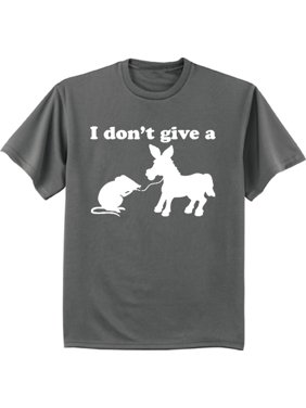 Donkey rat funny saying decal t-shirt graphic tee for men