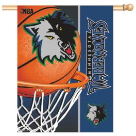 """Minnesota Timberwolves 27""""x37"""" Banner"""