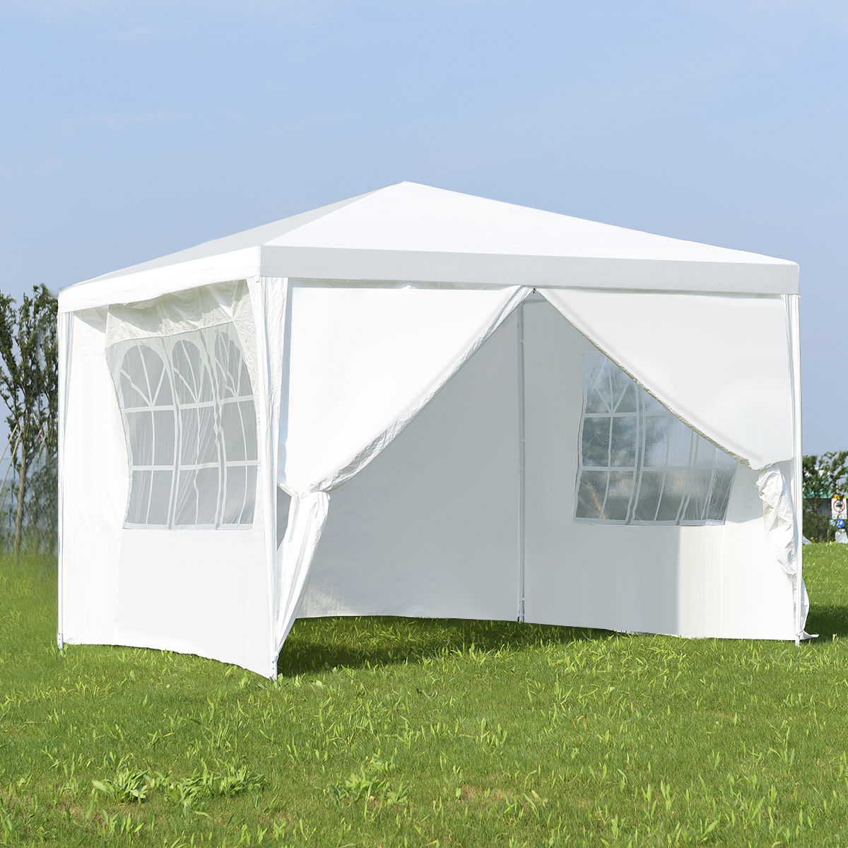 Costway Canopy Party Wedding Event Tent 10 X10 Heavy Duty