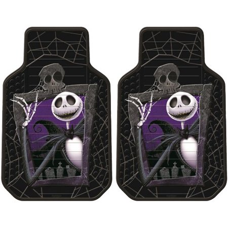 5pc nightmare before christmas jack skellington graveyard nbc auto accessories interior combo kit gift set - Nightmare Before Christmas Steering Wheel Cover