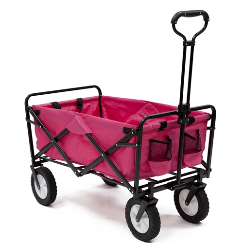 Mac Sports Blue Multipurpose Folding Utility Wagon
