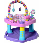 Best Exersaucer Babies - Evenflo Exersaucer Bounce and Learn Sweet Tea, Party Review