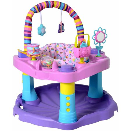 Evenflo Exersaucer Bounce and Learn Sweet Tea,