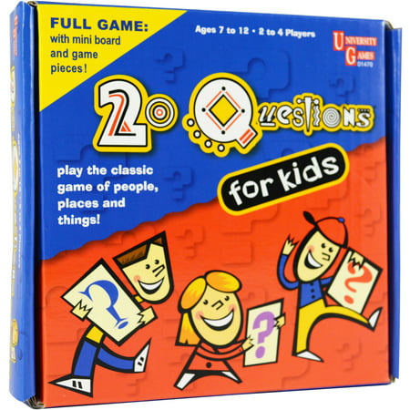 20 Questions for Kids Pocket Travel Game (Best Questions For 20 Questions Game)