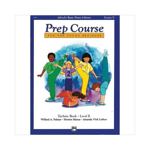 Alfred 00-6402 Basic Piano Prep Course- Technic Book E - Music Book