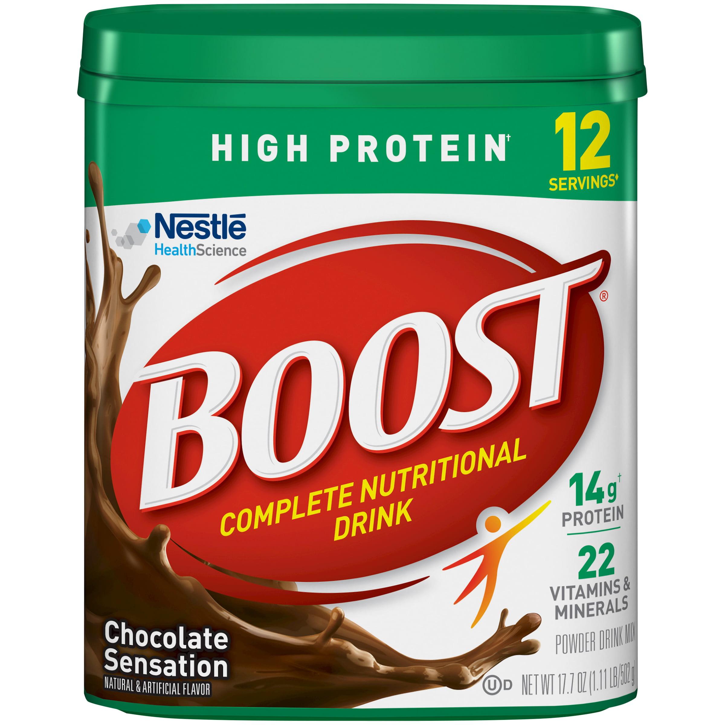 Boost�� Rich Chocolate High Protein Powder Drink Mix, 17.7 oz