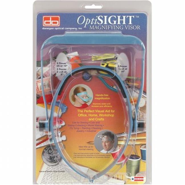 OptiSIGHT Magnifying Visor-Blue