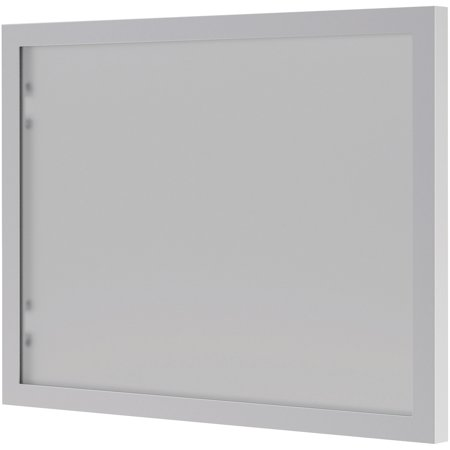 basyx BL Series Hutch Doors, Glass, 13 1/4 x 17 3/8, Silver/Frosted Basyx Bl Laminate Series