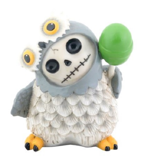 Furrybones Snow Hootie Skeleton in a Snow Owl Costume with a Lollipop Figurine  sc 1 st  Walmart & Furrybones Snow Hootie Skeleton in a Snow Owl Costume with a ...