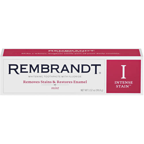 Rembrandt Intense Stain Mint Toothpaste, 3.5 oz