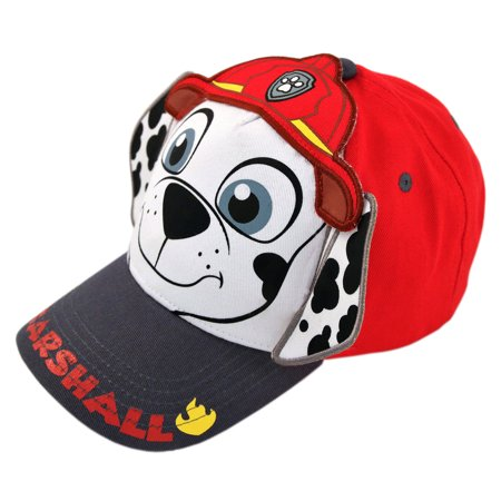 timeless design a4a49 d677f Nickelodeon - Nickelodeon Paw Patrol Marshall Cotton Baseball Cap, Toddler  Boys, Age 2-4 - Walmart.com