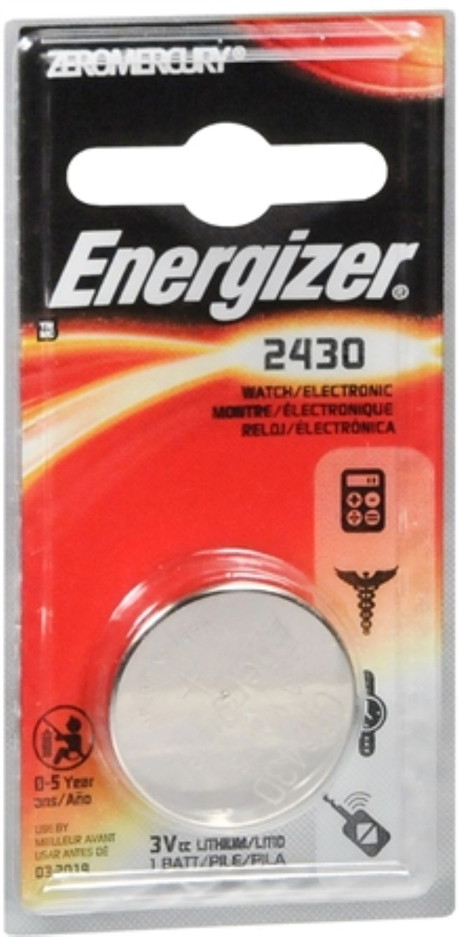 Energizer ECR2430 Lithium Button Cell Battery by Energizer Holdings, Inc