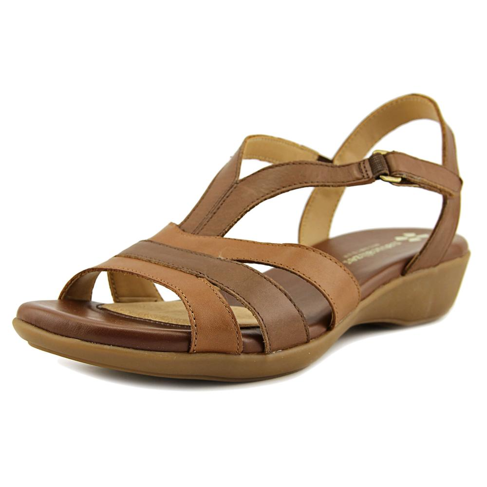 Naturalizer Neina N S Open-Toe Leather Slingback Sandal by Naturalizer