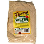 Bob's Red Mill Organic Stone Ground Whole Wheat Flour, 48 oz (Pack of 4)