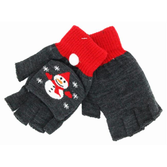 D. M.  Merchandising Inc X-FGLV Christmas Fingerless Glove