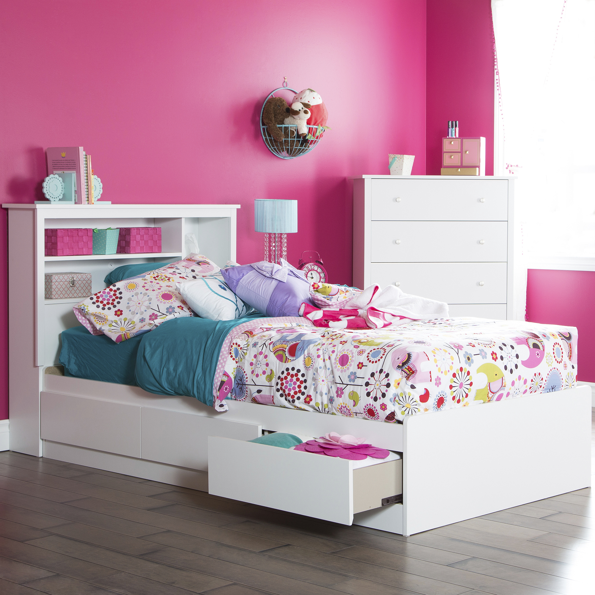 South Shore Vito Kids Bedroom 3-piece Value Bundle, Multiple finishes