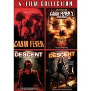 Cabin Fever / Cabin Fever 2 / Descent / Descent 2 (DVD)