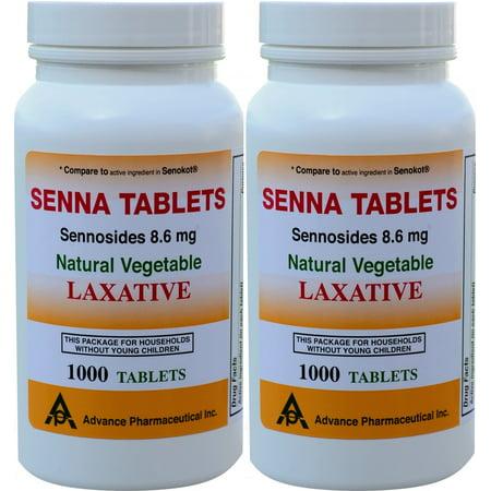 Senna 86 Mg Generic For Senokot Natural Vegetable Laxative 1000