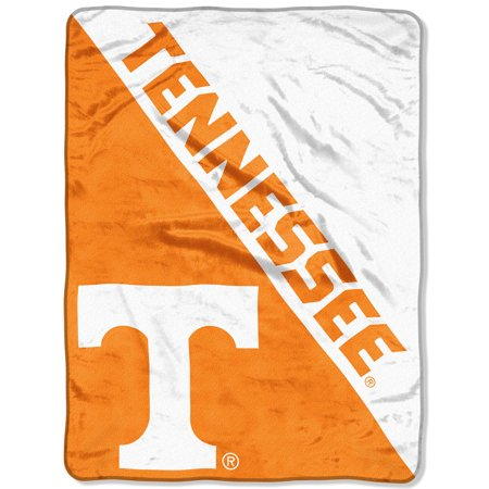 "Tennessee Volunteers Ncaa Stripes - NCAA Tennessee Volunteers ""Halftone"" 46""x 60"" Micro Raschel Throw"